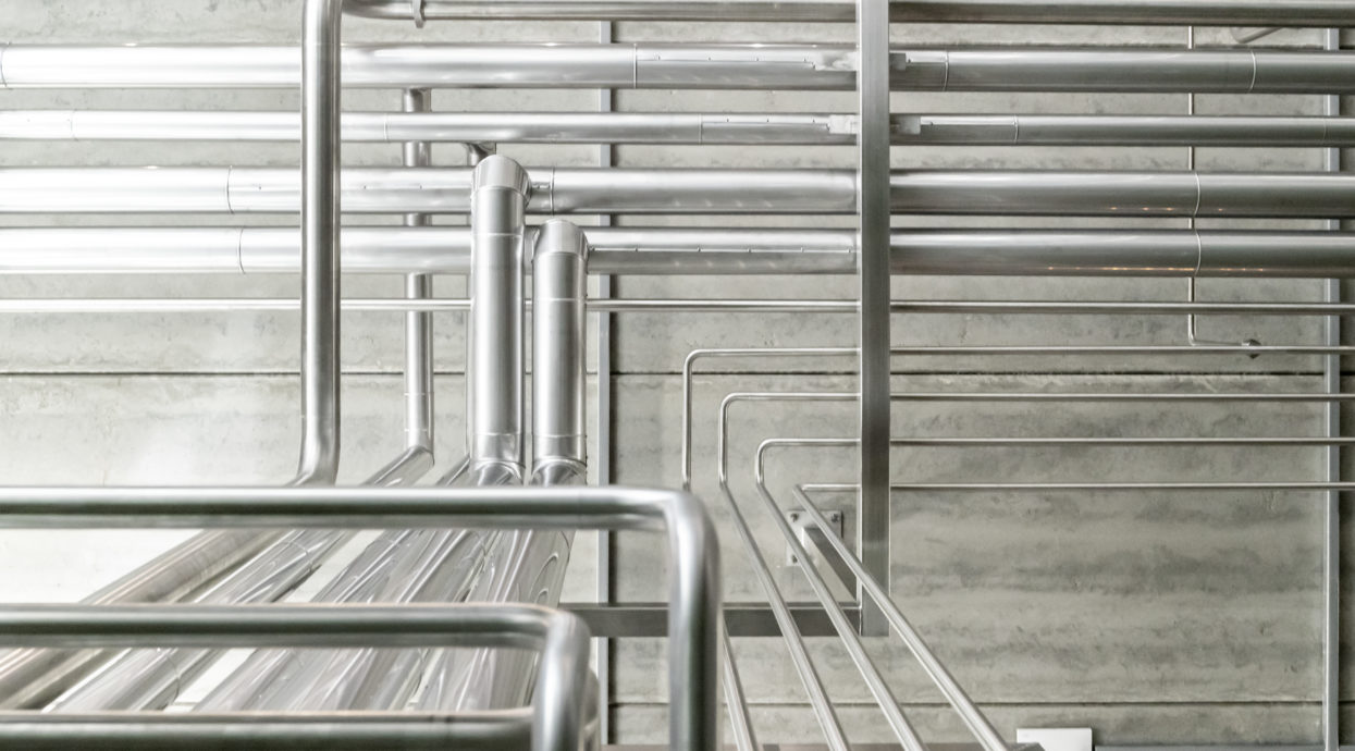 Matilda Bay Brewery Stainless Pipework